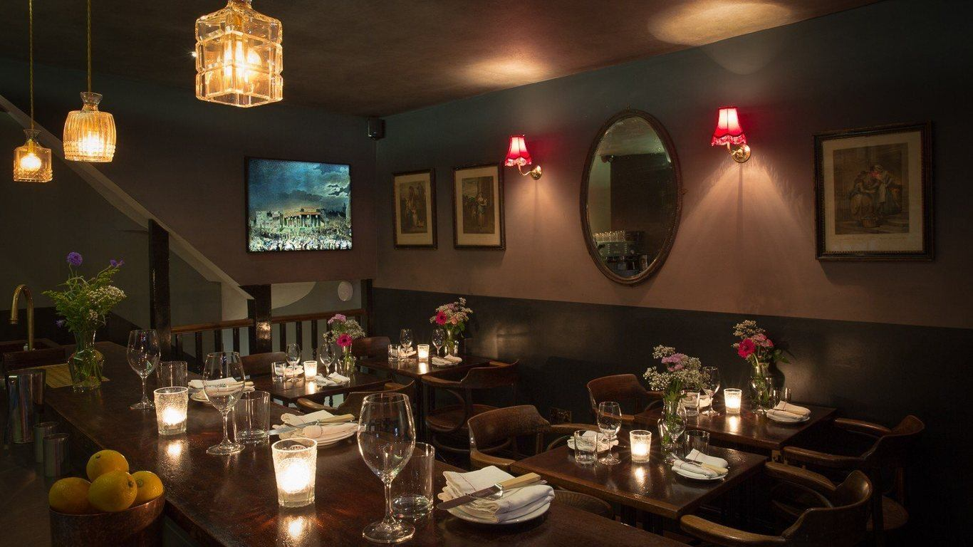 Modern European restaurant, Kitty Fishers Mayfair