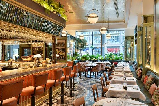 Brasserie style restaurant, The Ivy